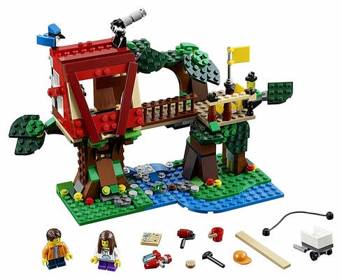 legos for girls : Lego Creator Treehouse Adventures