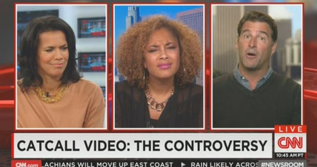 Amanda Seales scrunching her face in confusion