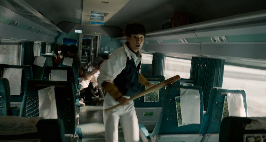 best zombie movies on netflix : train to busan
