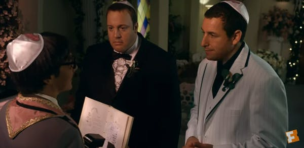adam sandler movies : I now pronounce you Chuck and larry
