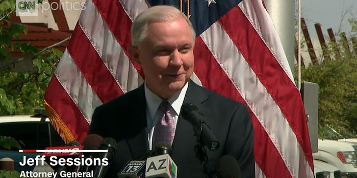 Attorney General Jeff Sessions Speaking