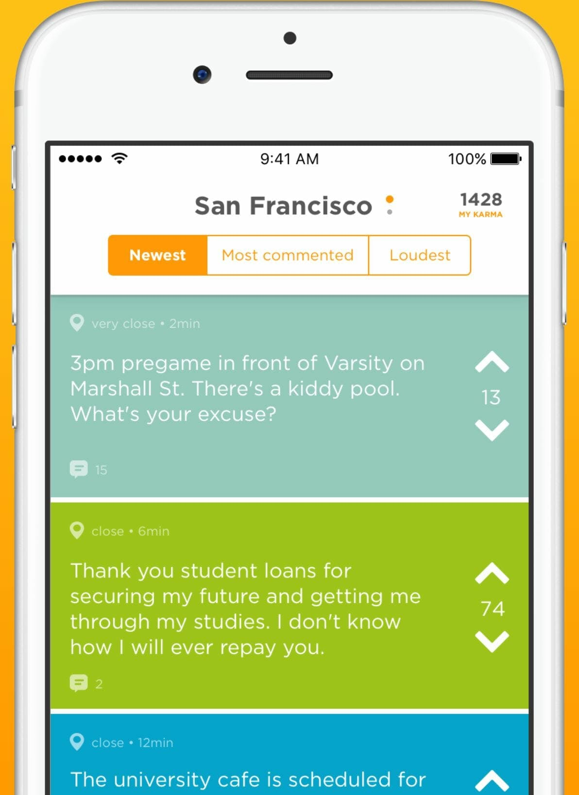 jodel anonymous messaging chat app