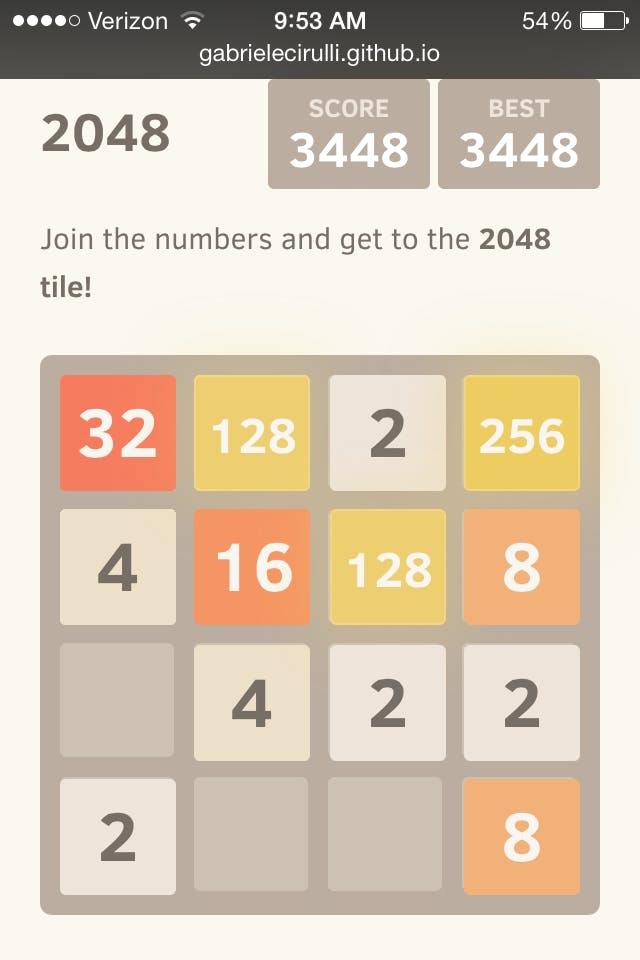 strategies for 2048