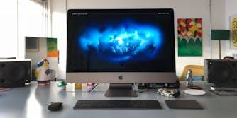 apple imac pro desktop all-in-one