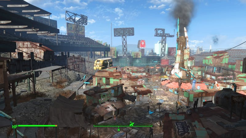 Survivors of the apocalypse putting Fenway Park to better use than the Red Sox did for 86 years.