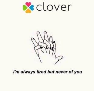 Clover lesbian dating app
