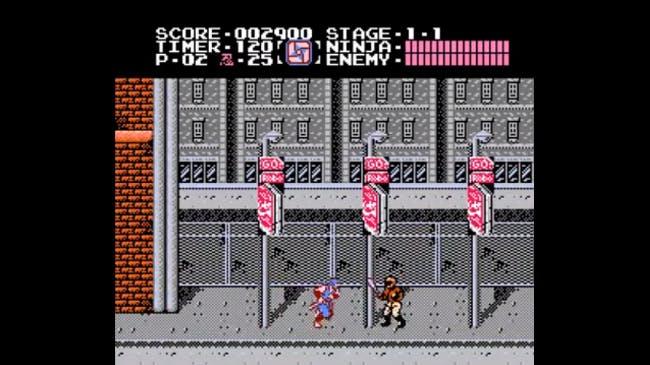 nes games: Ninja Gaiden