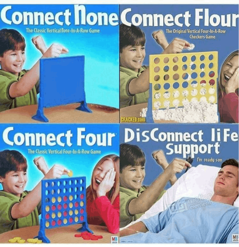connect four loss