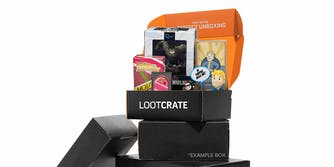 Loot Crate Mystery Box