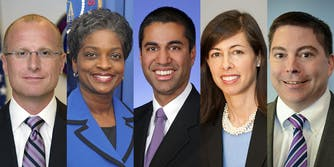 The FCC voted on Thursday to repeal net neutrality rules.