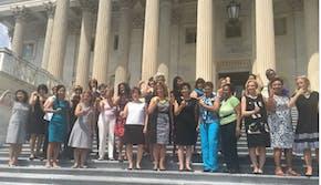 sleeveless congresswomen right to bare arms