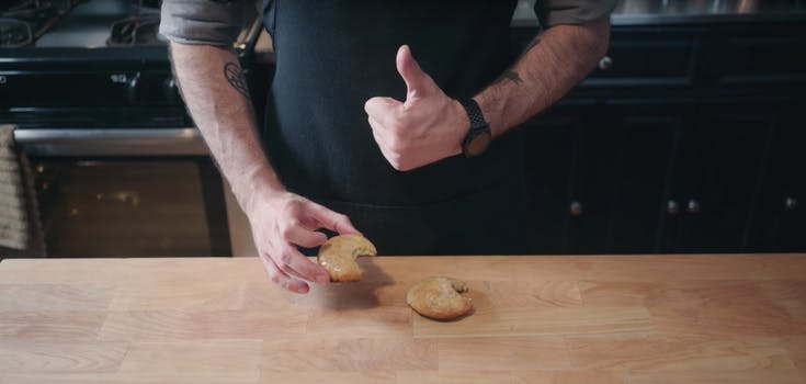 Binging With Babish does Seinfeld muffin tops