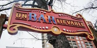 """Austin, TX bar """"Un-bar-lievable"""""""