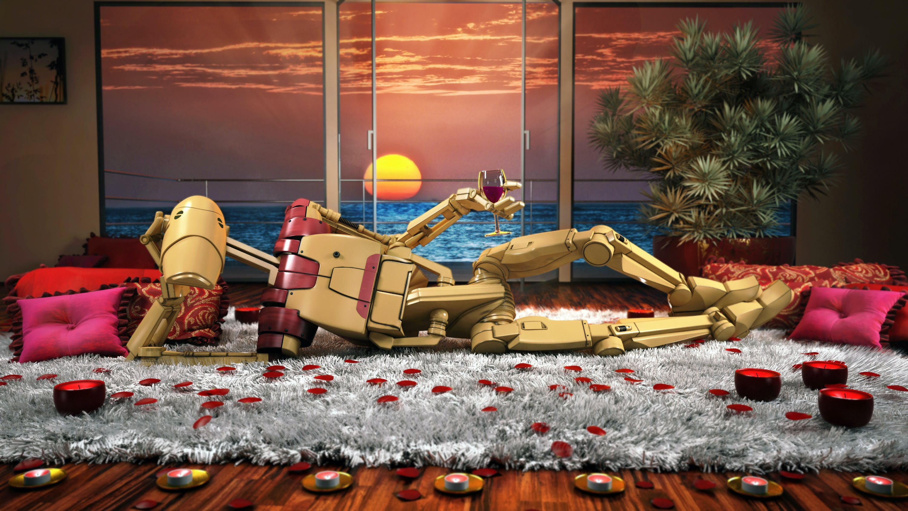 This Battledroid's Force is ready to awaken, if you get the drift.