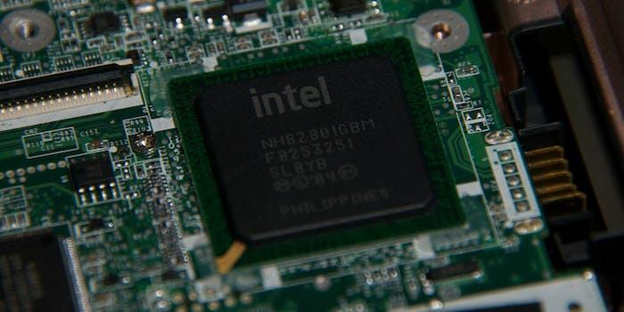 intel processor chip cpu