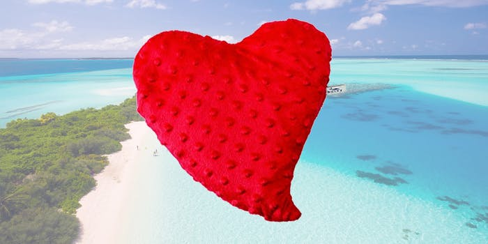 heart therapy pillow