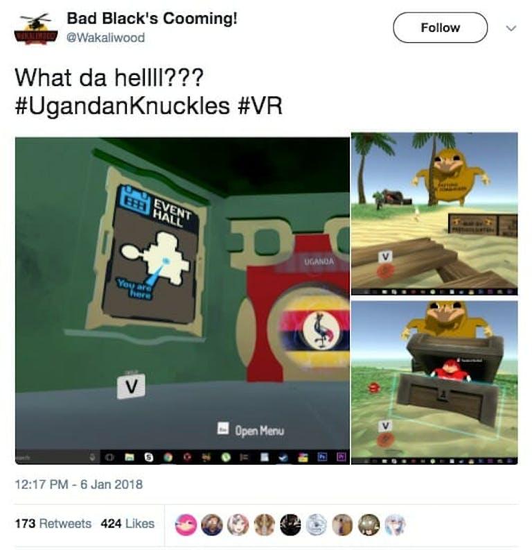 Ugandan Knuckles meme
