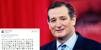 Ted Cruz Zodiac Killer Tweet