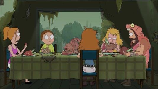 rick and morty season 3 episode 1 gravity falls
