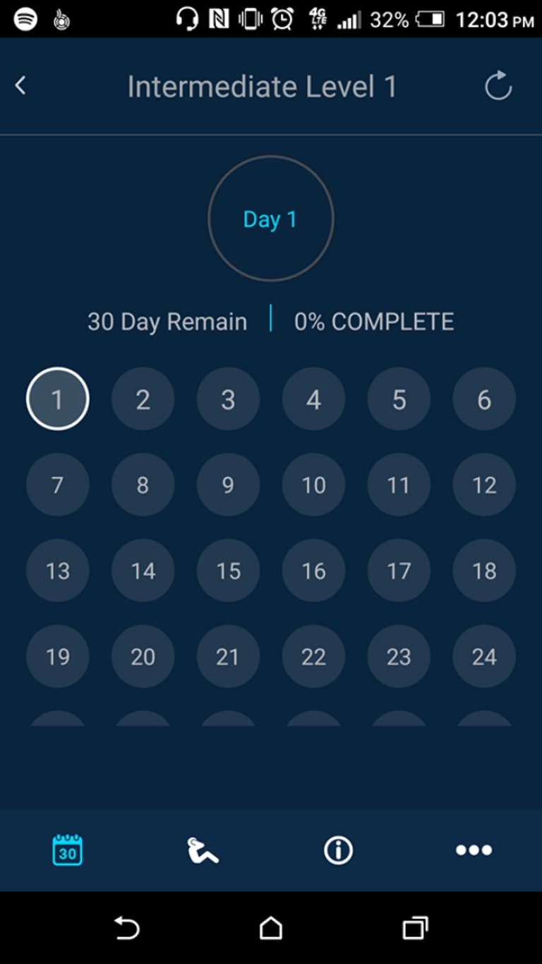 free workout apps : 30-Day Squat Challenge