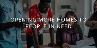 Airbnb refugee housing hero