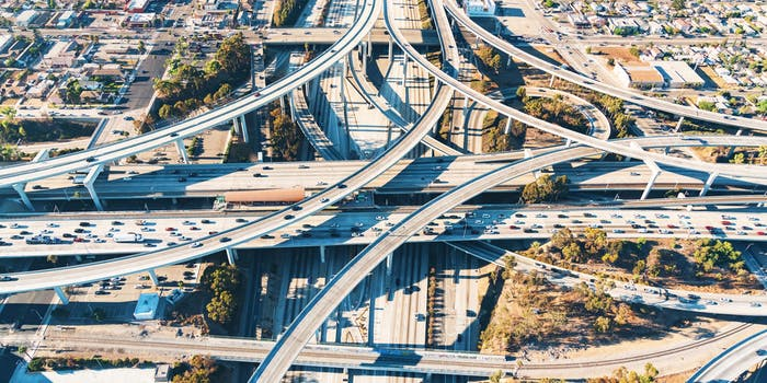 united states los angeles highway infrastructure