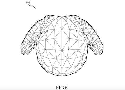 Disney robot patent exterior, figure 6