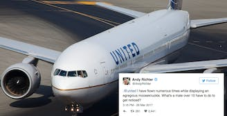 united airlines celebrities act