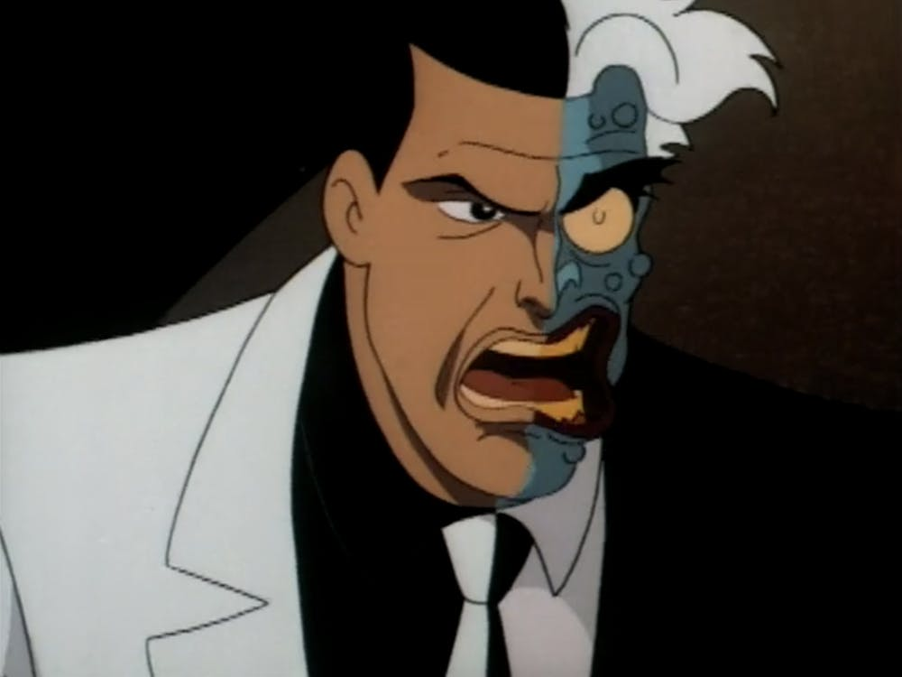 batman animated series list : two-face