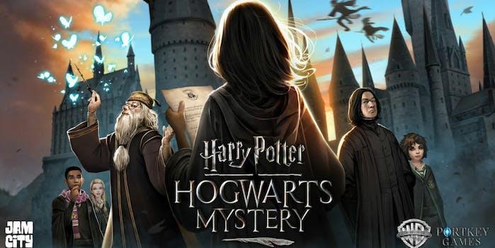 harry potter mobile game hogwarts house