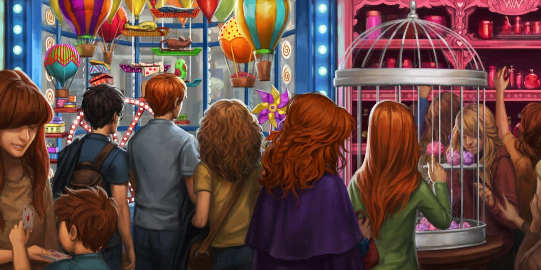 Inside Weasley's Wizard Wheezes