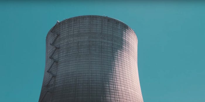 nuclear cooling plant