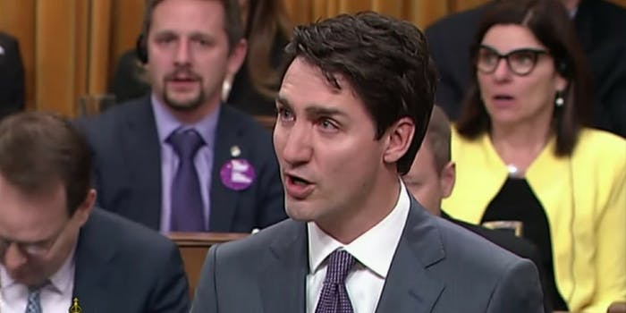 Canada Prime Minister Justin Trudeau apologized to the LGBTQ community discriminated against and criminalized between the 1950s and '90s.