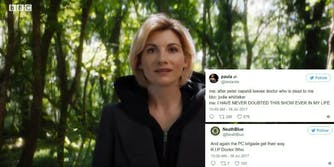 Doctor Who Jodie Whittaker Twitter reaction