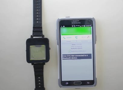 nokia 1110 smartwatch youtube video invetion