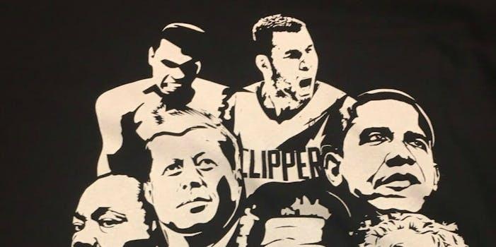 Blake Griffin pioneers shirt obama martin luther king muhammad ali