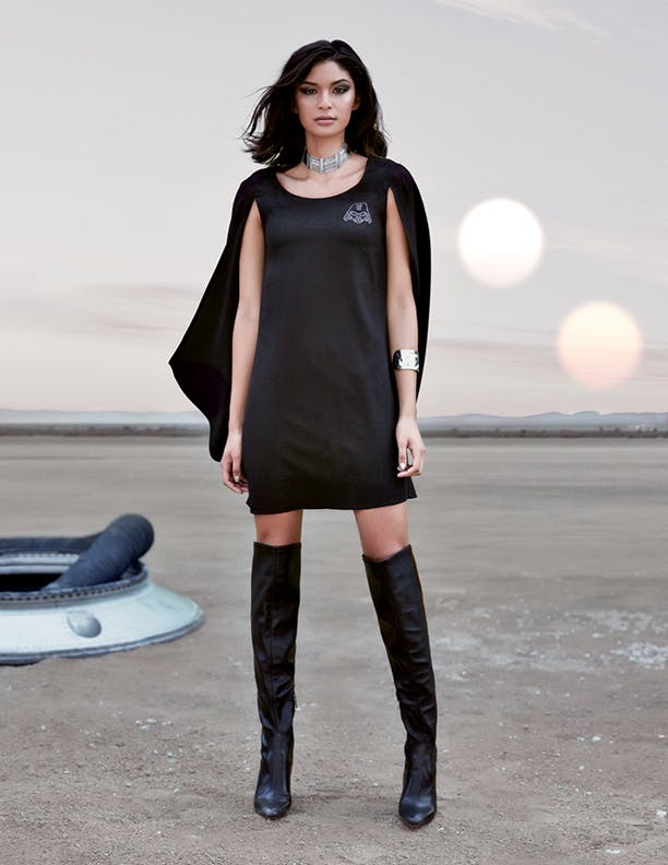 Darth Vader Cape Dress: $64.50 at all Hot Topic stores and HotTopic.com