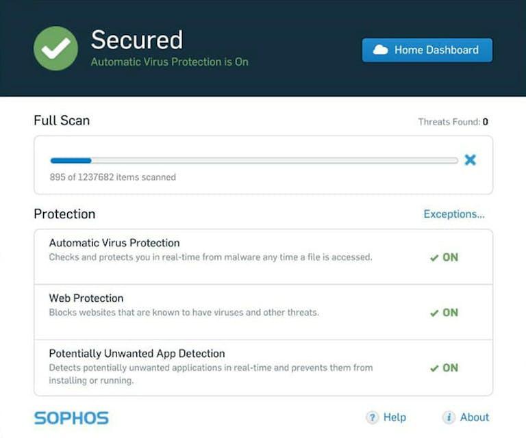 free sophos antivirus