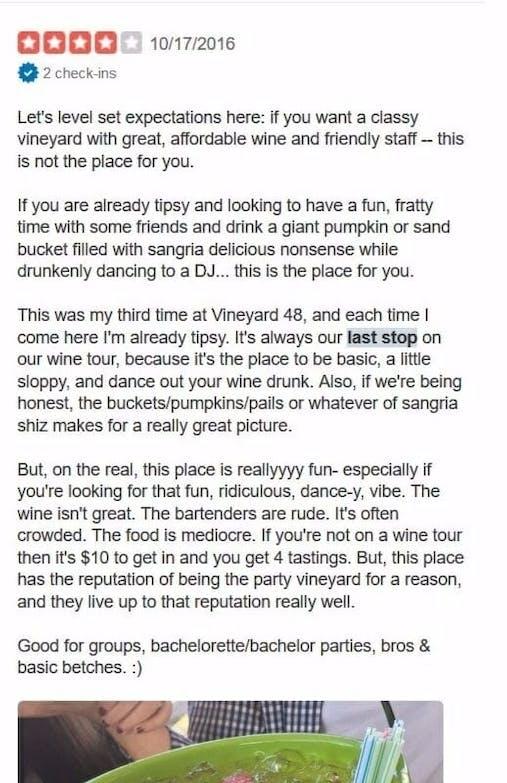 Vineyard 48 review