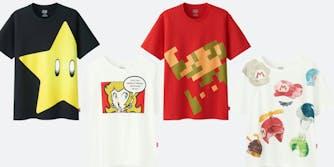 Nintendo shirts