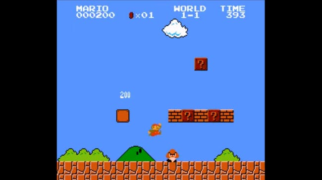 nes games: Super Mario Bros.