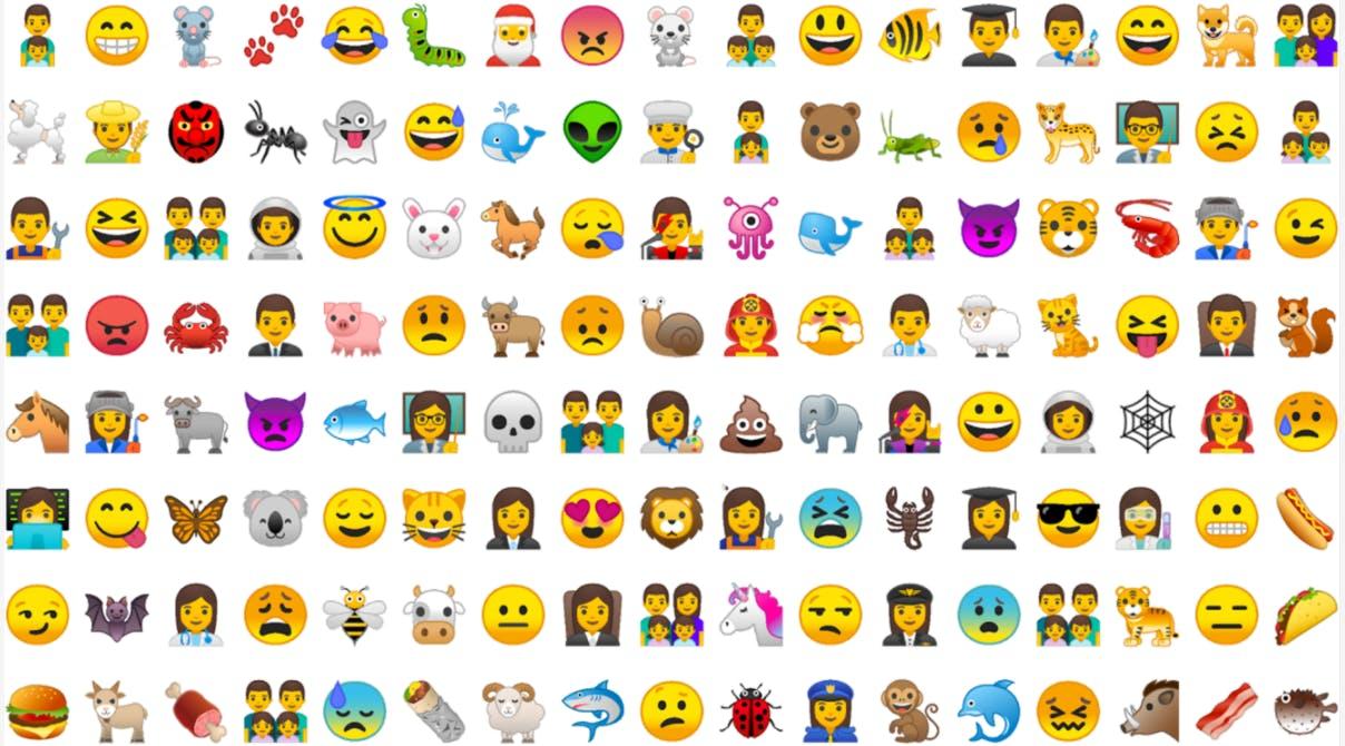 android oreo new emoji google