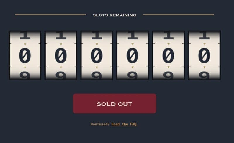 Cards Against Humanity sold out