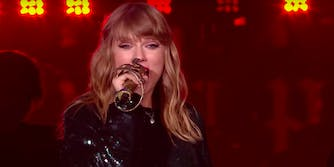 Taylor Swift says 2017 was her best year yet.