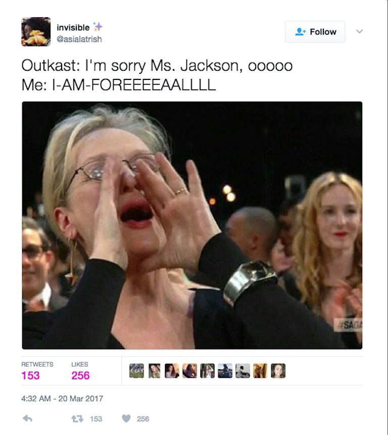 funny memes 2017: Meryl Streep