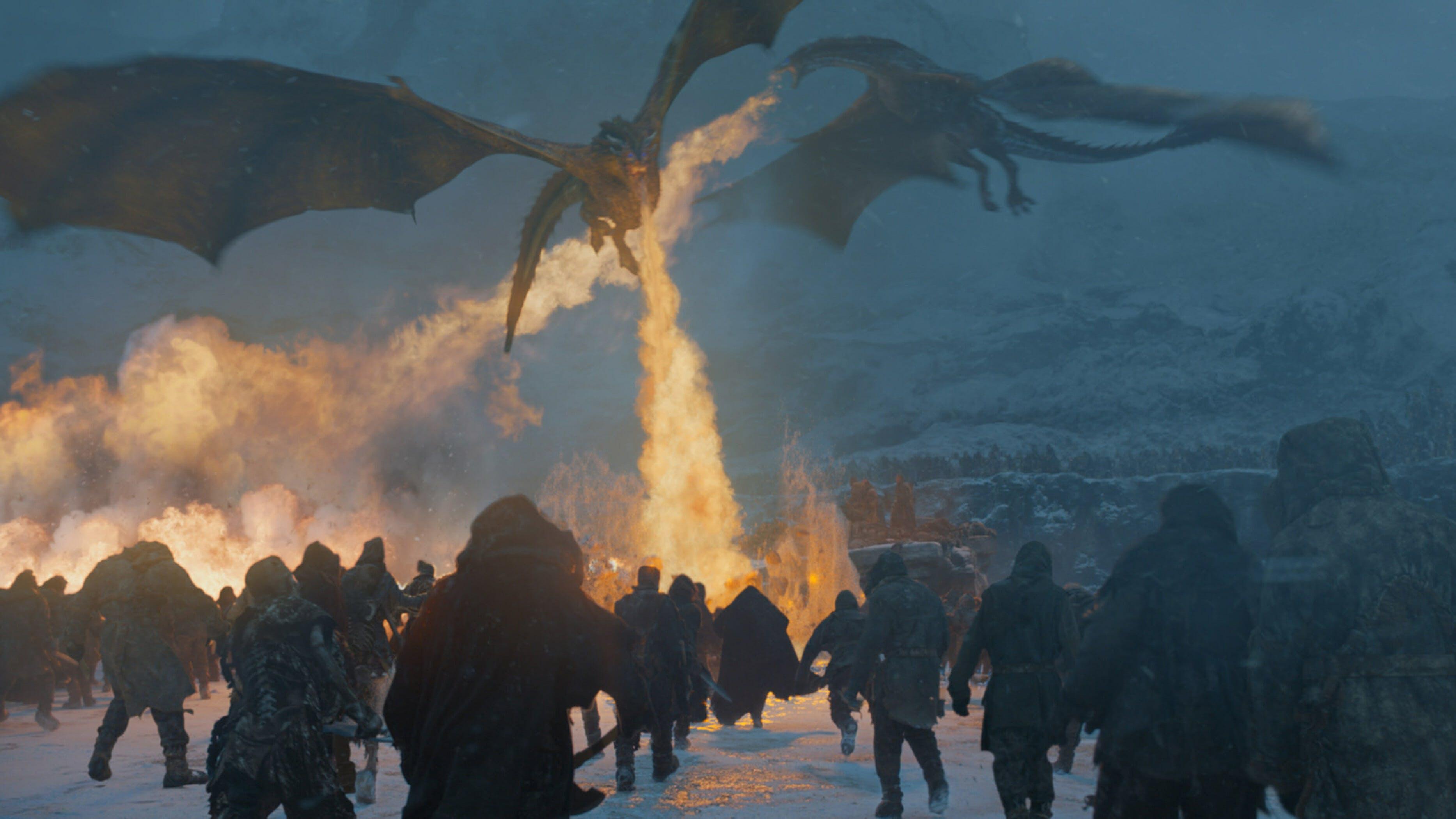dragons beyond the wall