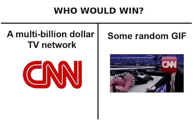 best memes 2017 : cnn memes