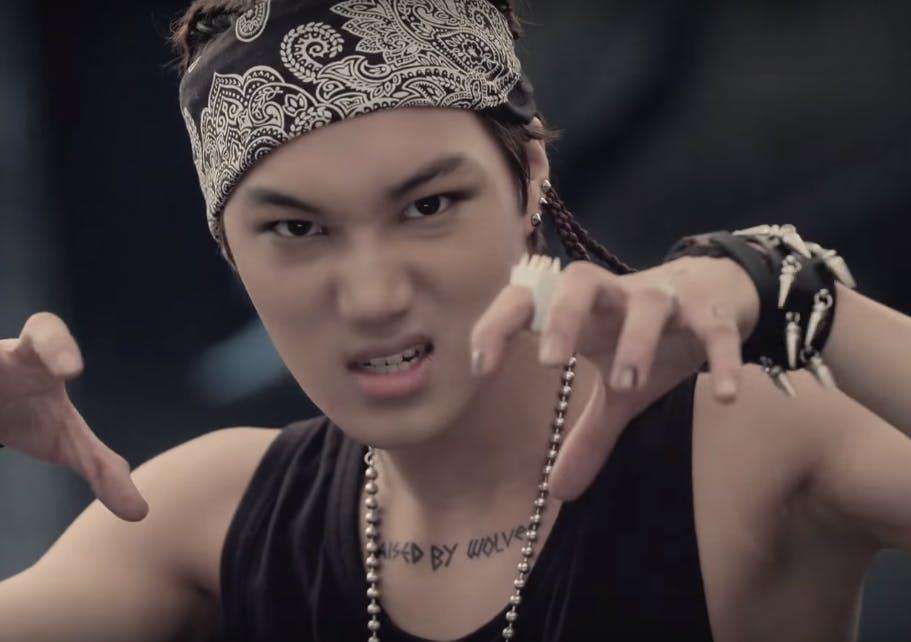 """Exo's Kai in """"Wolf"""""""