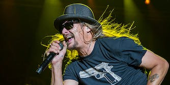 Bob Ritchie, a.k.a Kid Rock, went on a profanity-laden rant about politics during a warm-up show ahead of a concert run in Detroit, according to reports.