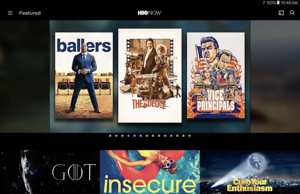 movie app for iphone : HBO Now
